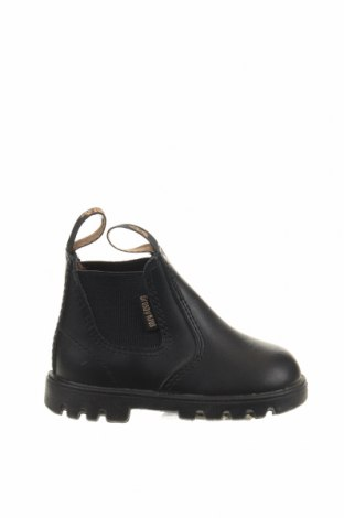 Παιδικά παπούτσια Grosby, Μέγεθος 19, Χρώμα Μαύρο, Γνήσιο δέρμα, Τιμή 22,73€