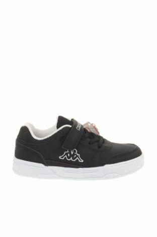 Παιδικά παπούτσια Kappa, Μέγεθος 29, Χρώμα Μαύρο, Δερματίνη, Τιμή 34,41€