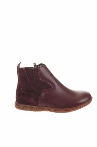 Παιδικά παπούτσια Kickers, Μέγεθος 24, Χρώμα Βιολετί, Γνήσιο δέρμα, φυσικό σουέτ, Τιμή 32,15€