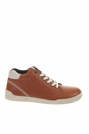 Παιδικά παπούτσια Kickers, Μέγεθος 34, Χρώμα Καφέ, Γνήσιο δέρμα, Τιμή 49,87€