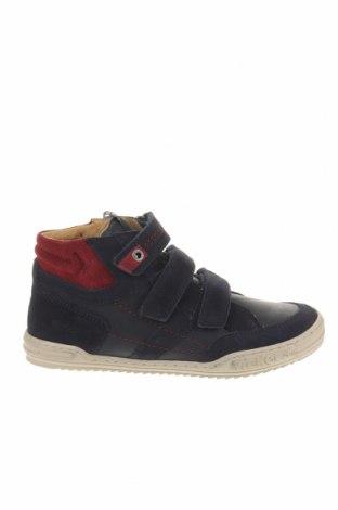 Детски обувки Kickers, Размер 33, Цвят Син, Естествен велур, естествена кожа, Цена 60,48лв.