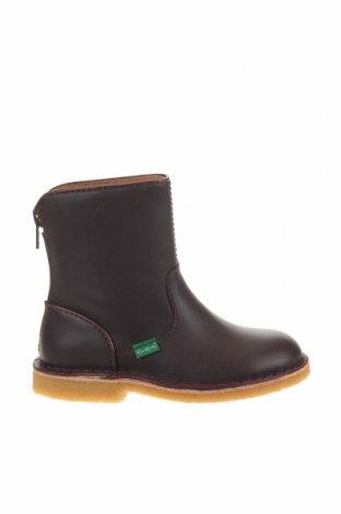 Детски обувки Kickers, Размер 27, Цвят Лилав, Естествена кожа, Цена 62,37лв.