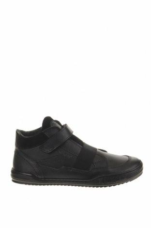 Παιδικά παπούτσια Kickers, Μέγεθος 34, Χρώμα Μαύρο, Γνήσιο δέρμα, Τιμή 30,54€
