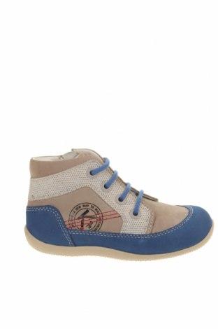 Детски обувки Kickers, Размер 27, Цвят Син, Естествена кожа, Цена 49,77лв.