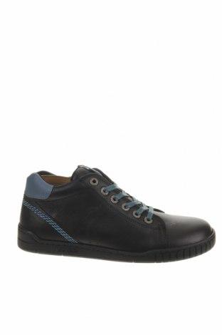 Παιδικά παπούτσια Kickers, Μέγεθος 35, Χρώμα Μαύρο, Γνήσιο δέρμα, Τιμή 25,65€