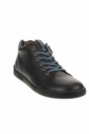 Παιδικά παπούτσια Kickers, Μέγεθος 35, Χρώμα Μαύρο, Γνήσιο δέρμα, Τιμή 30,54€