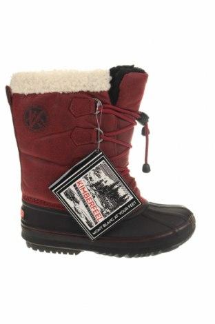 Детски обувки Kimberfeel, Размер 33, Цвят Червен, Текстил, полиуретан, Цена 56,07лв.