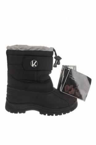 Детски обувки Kimberfeel, Размер 33, Цвят Черен, Текстил, полиуретан, Цена 51,62лв.
