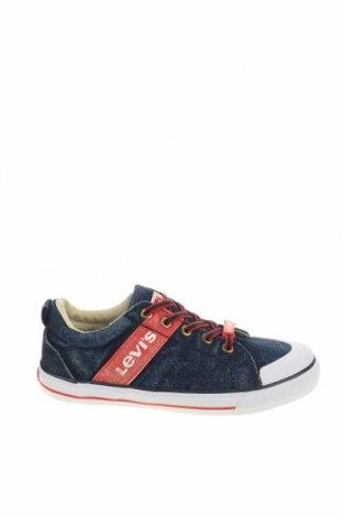 Παιδικά παπούτσια Levi's, Μέγεθος 35, Χρώμα Μπλέ, Κλωστοϋφαντουργικά προϊόντα, Τιμή 28,90€