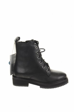 Детски обувки Mango, Размер 27, Цвят Черен, Естествена кожа, Цена 100,17лв.