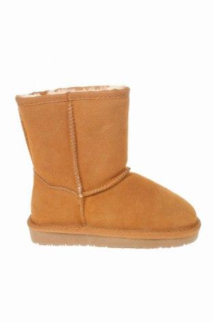 Детски обувки Nice Bay, Размер 30, Цвят Бежов, Естествен велур, Цена 87,57лв.