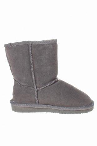 Детски обувки Nice Bay, Размер 34, Цвят Сив, Естествен велур, Цена 87,57лв.
