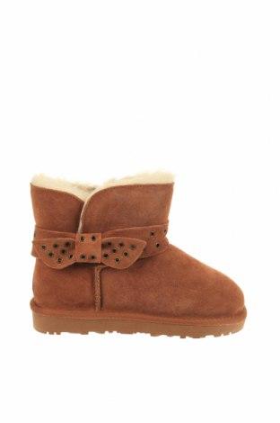 Детски обувки Nice Bay, Размер 34, Цвят Кафяв, Естествена кожа, Цена 87,57лв.