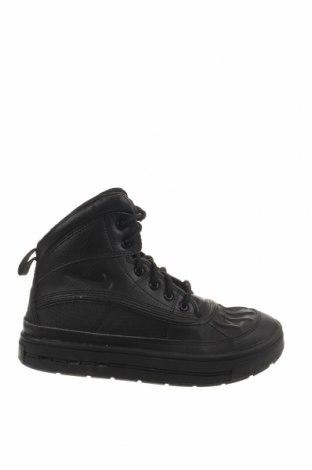 Παιδικά παπούτσια Nike, Μέγεθος 36, Χρώμα Μαύρο, Γνήσιο δέρμα, κλωστοϋφαντουργικά προϊόντα, Τιμή 36,37€