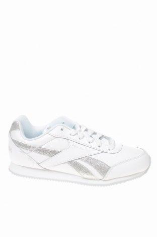 Παιδικά παπούτσια Reebok, Μέγεθος 36, Χρώμα Λευκό, Δερματίνη, γνήσιο δέρμα, Τιμή 37,11€