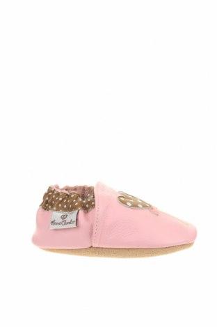 Παιδικά παπούτσια Rose et Chocolat, Μέγεθος 22, Χρώμα Ρόζ , Γνήσιο δέρμα, Τιμή 26,68€