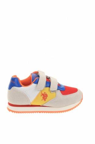 Παιδικά παπούτσια U.S. Polo Assn., Μέγεθος 27, Χρώμα Πολύχρωμο, Κλωστοϋφαντουργικά προϊόντα, φυσικό σουέτ, Τιμή 26,68€