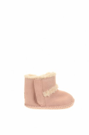 Παιδικά παπούτσια Ugg Australia, Μέγεθος 16, Χρώμα Ρόζ , Φυσικό σουέτ, Τιμή 57,15€