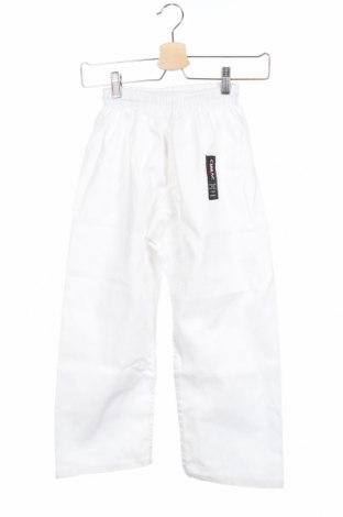 Παιδικό παντελόνι, Μέγεθος 8-9y/ 134-140 εκ., Χρώμα Λευκό, 60% βαμβάκι, 40% πολυεστέρας, Τιμή 1,59€