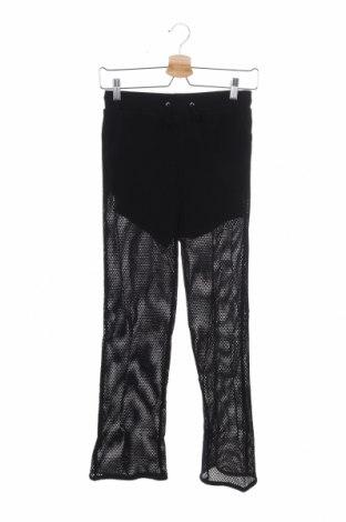 Παιδικό παντελόνι TWINSET, Μέγεθος 13-14y/ 164-168 εκ., Χρώμα Μαύρο, Πολυεστέρας, Τιμή 32,15€