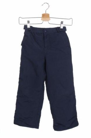Παιδικό παντελόνι για χειμερινά σπορ, Μέγεθος 5-6y/ 116-122 εκ., Χρώμα Μπλέ, Πολυεστέρας, Τιμή 22,83€