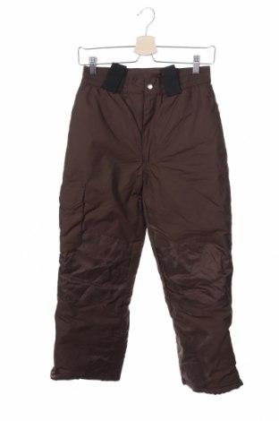 Παιδικό παντελόνι για χειμερινά σπορ, Μέγεθος 9-10y/ 140-146 εκ., Χρώμα Καφέ, Τιμή 17,90€