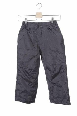 Παιδικό παντελόνι για χειμερινά σπορ, Μέγεθος 6-7y/ 122-128 εκ., Χρώμα Γκρί, Πολυεστέρας, Τιμή 8,18€