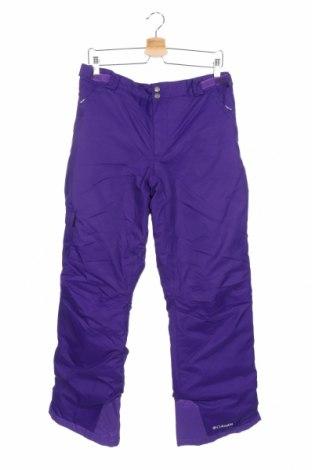 Παιδικό παντελόνι για χειμερινά σπορ Columbia, Μέγεθος 15-18y/ 170-176 εκ., Χρώμα Βιολετί, Πολυαμίδη, Τιμή 46,76€