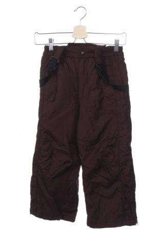 Παιδικό παντελόνι για χειμερινά σπορ Rothschild, Μέγεθος 5-6y/ 116-122 εκ., Χρώμα Καφέ, Πολυεστέρας, Τιμή 7,50€