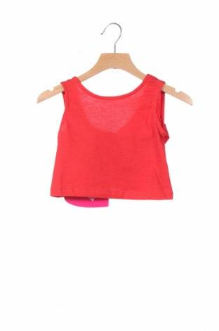 Μπλουζάκι αμάνικο παιδικό Agatha Ruiz De La Prada, Μέγεθος 2-3m/ 56-62 εκ., Χρώμα Κόκκινο, Βαμβάκι, Τιμή 4,95€