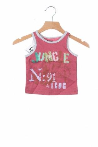Детски потник La Compagnie des Petits, Размер 3-6m/ 62-68 см, Цвят Розов, Памук, Цена 3,29лв.