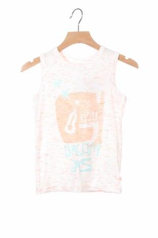 Μπλουζάκι αμάνικο παιδικό Okaidi, Μέγεθος 3-4y/ 104-110 εκ., Χρώμα Λευκό, Βαμβάκι, Τιμή 11,96€