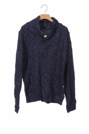 Παιδικό πουλόβερ, Μέγεθος 15-18y/ 170-176 εκ., Χρώμα Μπλέ, Ακρυλικό, Τιμή 5,23€