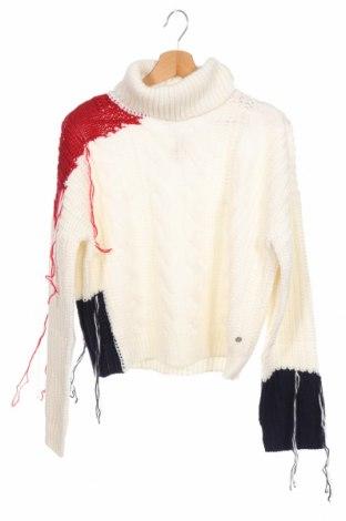 Παιδικό πουλόβερ Eleven Paris, Μέγεθος 7-8y/ 128-134 εκ., Χρώμα Εκρού, 90%ακρυλικό, 10% μαλλί, Τιμή 15,66€