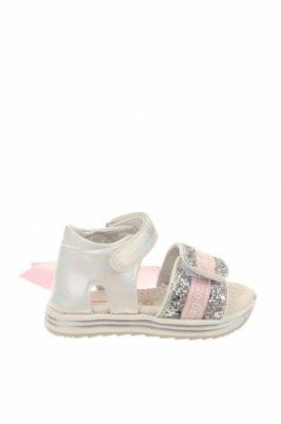 Παιδικά σανδάλια Laura Biagiotti, Μέγεθος 23, Χρώμα Γκρί, Κλωστοϋφαντουργικά προϊόντα, Τιμή 40,82€