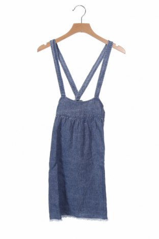 Παιδική σαλοπέτα, Μέγεθος 3-4y/ 104-110 εκ., Χρώμα Μπλέ, Λινό, Τιμή 11,06€