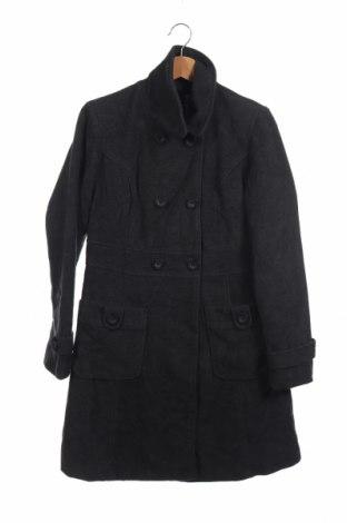 Παιδικό παλτό KappAhl, Μέγεθος 14-15y/ 168-170 εκ., Χρώμα Γκρί, 54% μαλλί, 38% πολυεστέρας, 4% πολυαμίδη, 2% βισκόζη, 2%ακρυλικό, Τιμή 22,21€