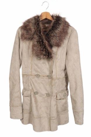 Παιδικό παλτό Million X, Μέγεθος 12-13y/ 158-164 εκ., Χρώμα  Μπέζ, 70%ακρυλικό, 30% πολυεστέρας, Τιμή 32,08€
