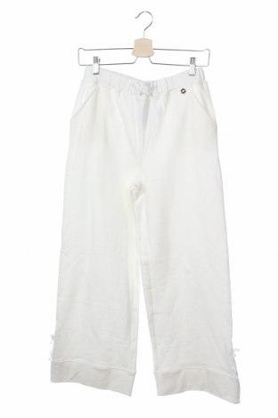 Παιδική κάτω φόρμα TWINSET, Μέγεθος 13-14y/ 164-168 εκ., Χρώμα Λευκό, 100% βαμβάκι, Τιμή 23,12€