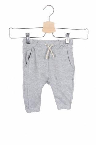 Παιδική κάτω φόρμα Zara Kids, Μέγεθος 6-9m/ 68-74 εκ., Χρώμα Γκρί, 75% βαμβάκι, 25% πολυεστέρας, Τιμή 5,36€