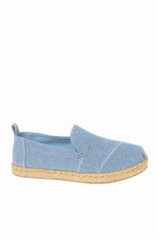 Εσπάδριλλες Toms, Μέγεθος 36, Χρώμα Μπλέ, Κλωστοϋφαντουργικά προϊόντα, Τιμή 28,46€