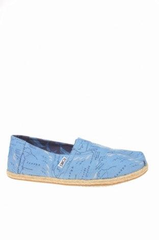 Εσπάδριλλες Toms, Μέγεθος 40, Χρώμα Μπλέ, Κλωστοϋφαντουργικά προϊόντα, Τιμή 28,46€
