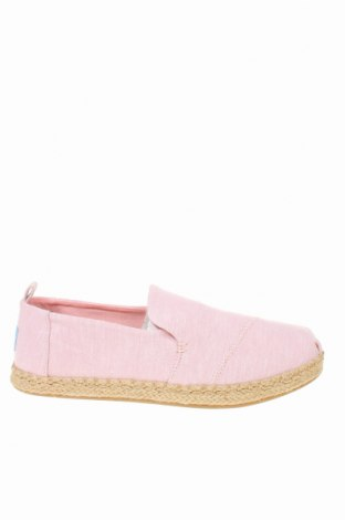 Εσπάδριλλες Toms, Μέγεθος 38, Χρώμα Ρόζ , Κλωστοϋφαντουργικά προϊόντα, Τιμή 28,46€