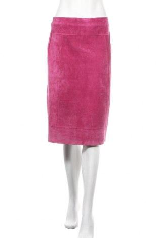 Δερμάτινη φούστα Annex, Μέγεθος M, Χρώμα Ρόζ , Φυσικό σουέτ, Τιμή 46,76€
