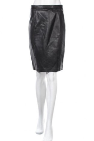 Δερμάτινη φούστα Mango, Μέγεθος S, Χρώμα Μαύρο, Δερματίνη, Τιμή 20,98€