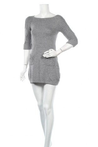 Кожена рокля F&F, Размер S, Цвят Сив, 55% вискоза, 40% полиамид, 5% ангора, Цена 25,94лв.