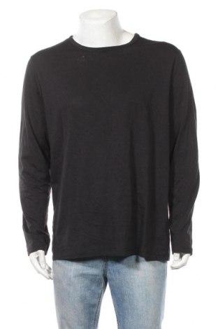 Ανδρική μπλούζα Livergy, Μέγεθος XL, Χρώμα Μαύρο, 39% βαμβάκι, 30% πολυεστέρας, 28% βισκόζη, 3% ελαστάνη, Τιμή 8,64€