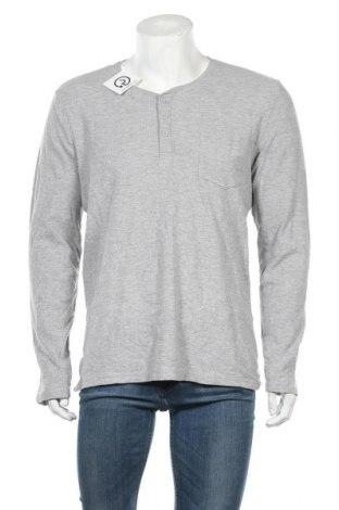 Ανδρική μπλούζα Livergy, Μέγεθος L, Χρώμα Γκρί, 90% βαμβάκι, 10% βισκόζη, Τιμή 10,49€