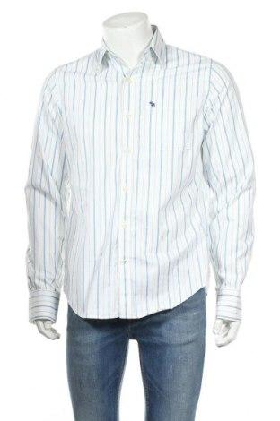 Ανδρικό πουκάμισο Abercrombie & Fitch, Μέγεθος M, Χρώμα Λευκό, Βαμβάκι, Τιμή 14,84€