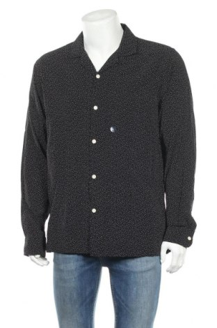 Ανδρικό πουκάμισο Abercrombie & Fitch, Μέγεθος XL, Χρώμα Μαύρο, Βισκόζη, Τιμή 27,37€
